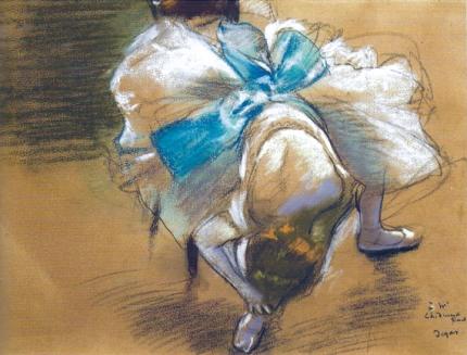 Dancer Tying up her Slipper 1887