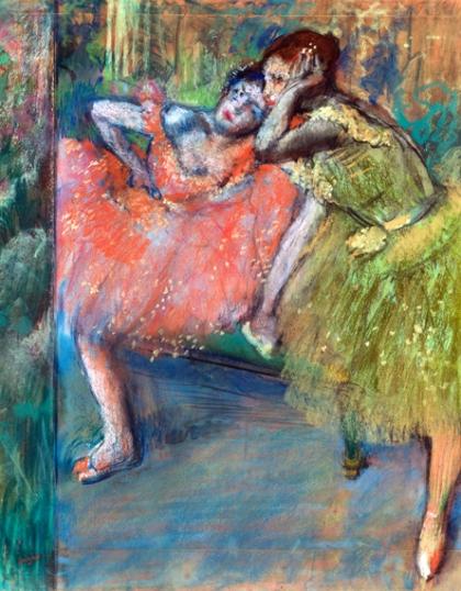 Danseuses Au Foyer 1901