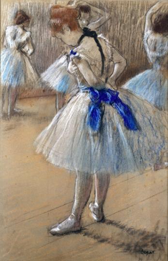 A Study of a Dancer 1880