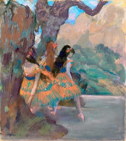 Ballet Dancers 1877