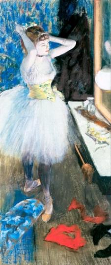 Dancer in her Dressing Room