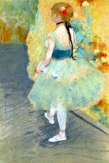 Dancer in Green 1878