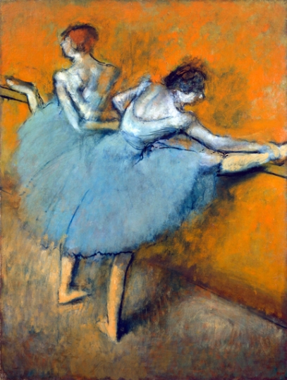Dancers at the Barre 1900