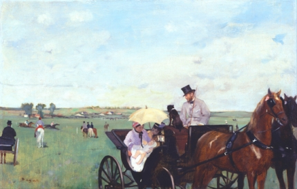 At the Races in the Countryside 1869