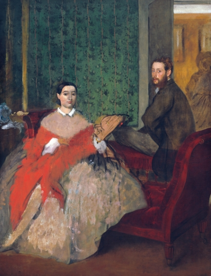 Edmondo and Thérèse Morbilli 1865
