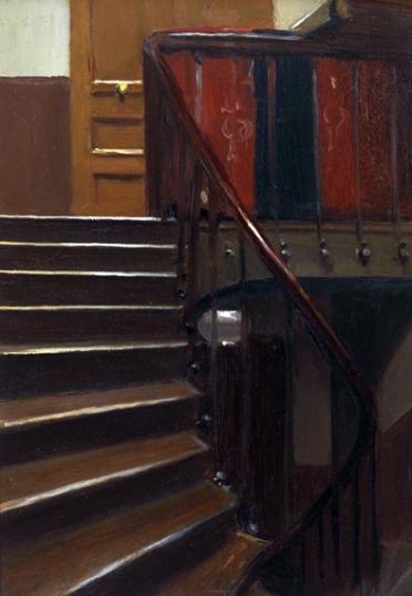 Stairway at 48 Rue De Lille, Paris 1906