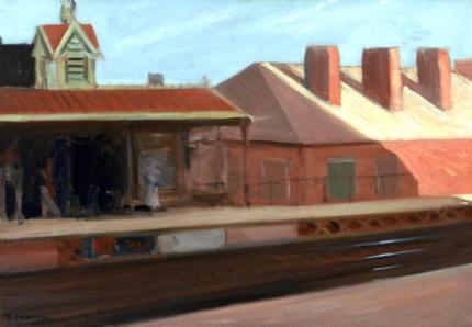 The El Station 1908