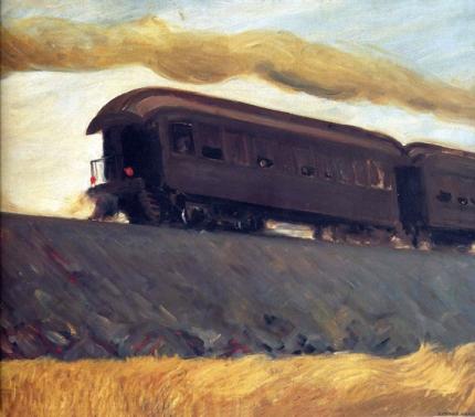 Railroad Train 1908