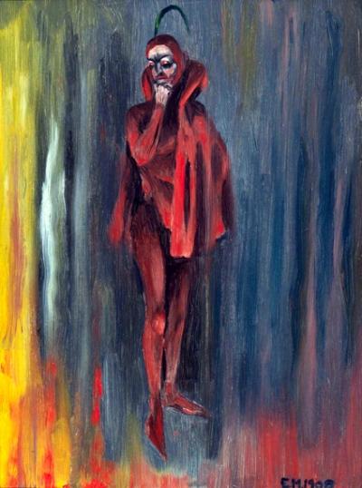Satan in Red 1900