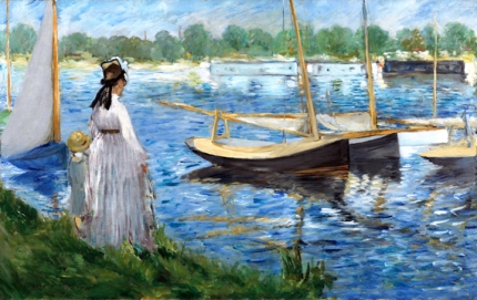 Banks of the Seine at Argenteuil 1874
