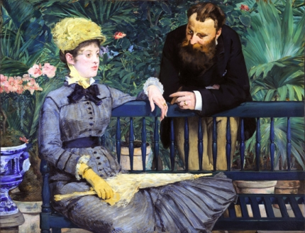 In the Conservatory 1879
