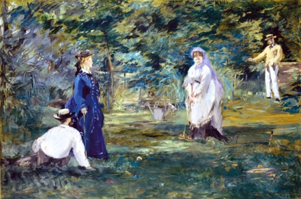 A Game of Croquet 1873