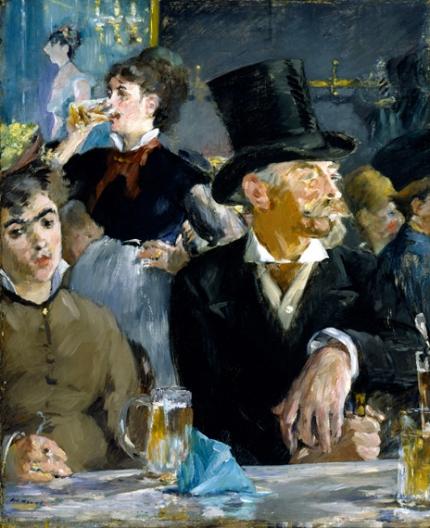 At the Café Concert 1879