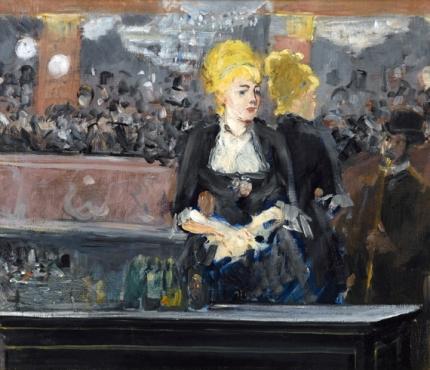 Le Bar Aux Folies-Bergère 1881