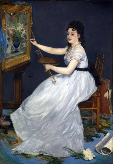 エヴァ・ゴンザレスの肖像