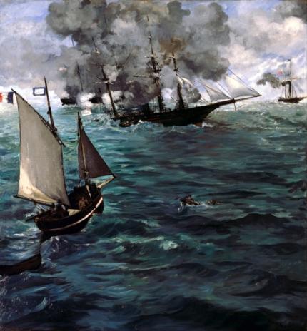 キアサージ号とアラバマ号の海戦