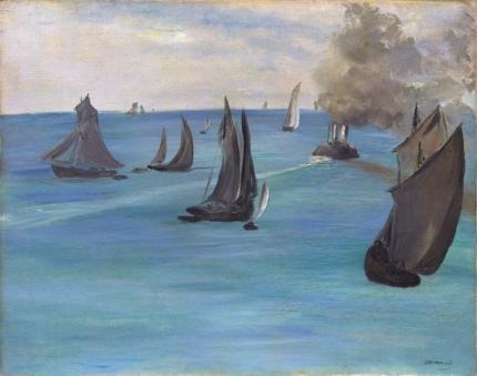 Sea View, Calm Weather 1864