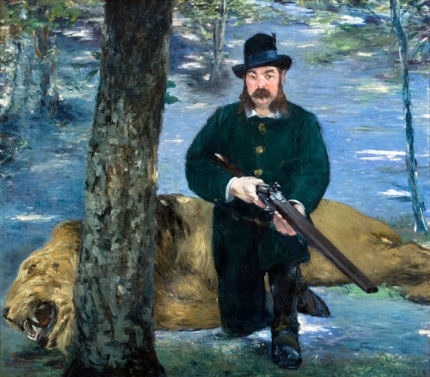 Mr. Eugène Petuiset, the Lion Hunter 1881