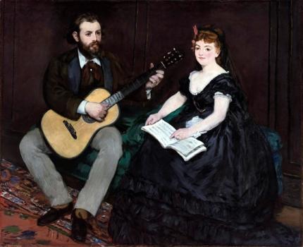 Music Lesson 1870