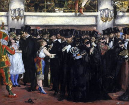 Masked Ball at the Opera, 1873