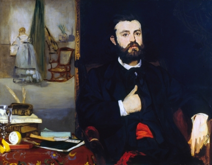Portrait of the Poet Zacharie Astruc 1866
