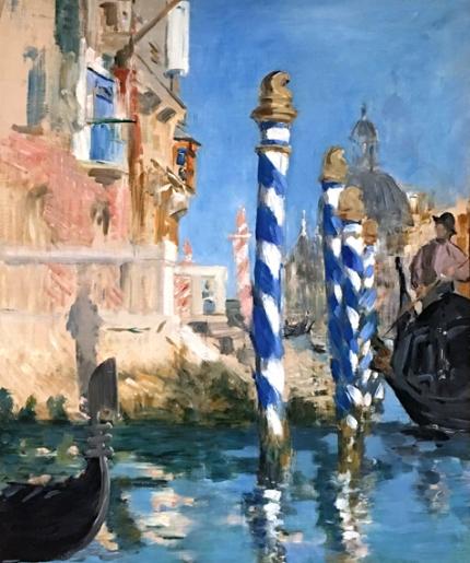 Grand Canal in Venice 1874