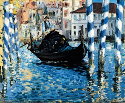 The grand canal of Venice (Blue Venice) 1874