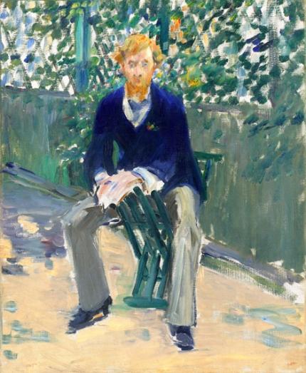 George Moore in the Artist's Garden 1879