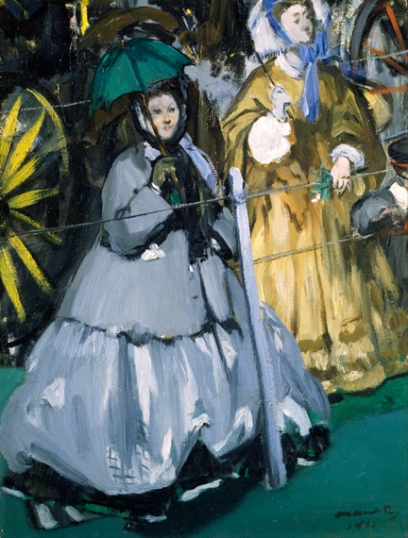 Women at the Races 1866
