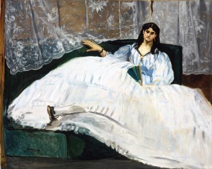 Woman with a Fan 1862