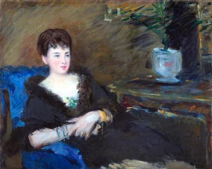 Portrait of Isabelle Lemonnier 1877
