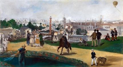 1867年のパリ万国博覧会の光景