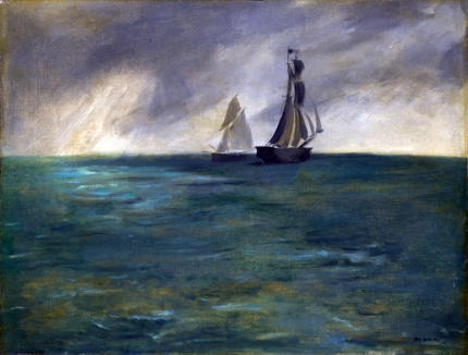 Sea in Stormy Weather 1873