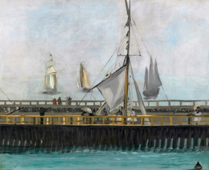 The Jetty of Boulogne-sur-Mer 1868