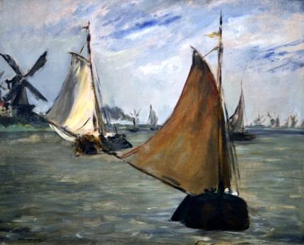 Marine in Holland 1872