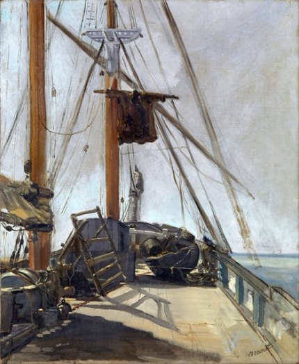 The ship's deck 1860