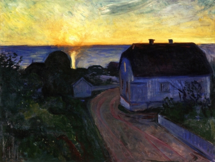 Sunrise In Asgardstrand