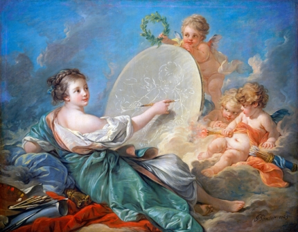 Allegory of Painting 1765