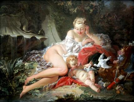 Venus and Amor 1742