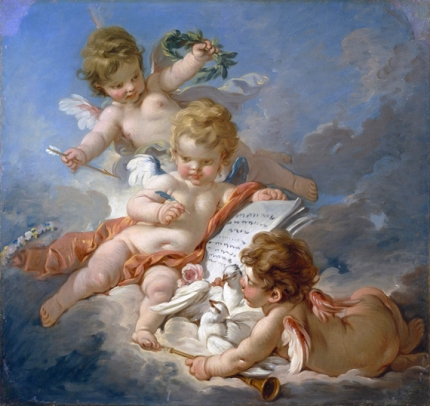 Cupids, Allegory of Poetry