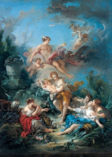 Mercury Confiding the Infant Bacchus to the Nymphs of Nysa