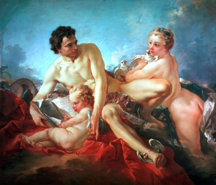 The Education of Cupid 1742