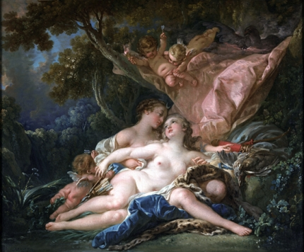 Jupiter in the Guise of Diana, and the Nymph Callisto 1759