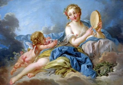 Terpsichore, the Muse of Dancing and Song 1739