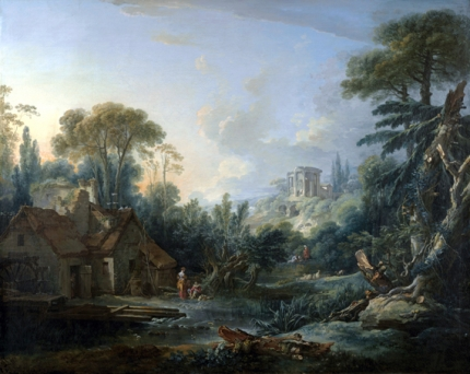 Landscape with a Water Mill 1740