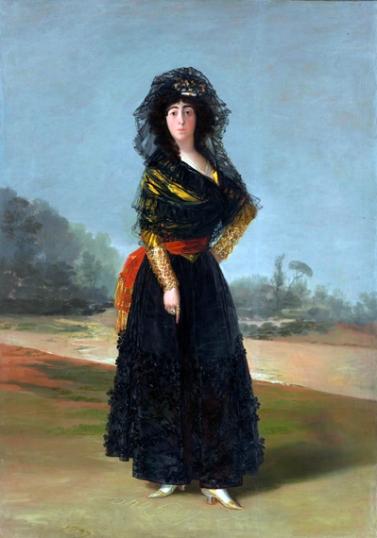 The Duchess of Alba, 1797