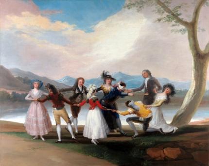 Blind man 1788