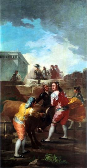 Amateur Bullfight 1780
