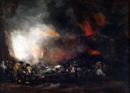 Incendio de un hospital