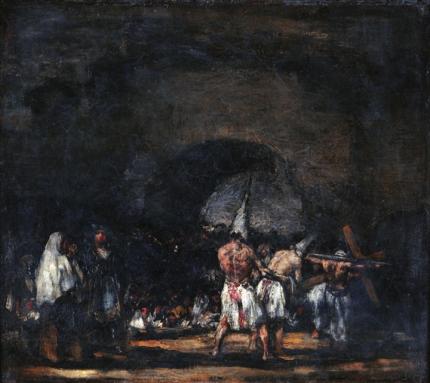 Scene with Flagellants 1808